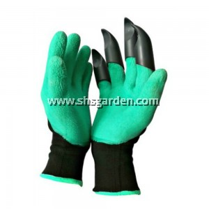 GARDENING GLOVES with ABS CLAWS