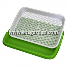Microgreen Tray 2-layer System 33 x 25 x 4.7 cm Suitable for All Microgreen