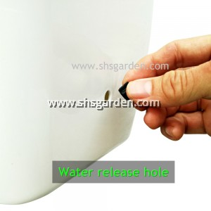 (3 sets) Large Self watering Pot Hydroponic Pot Don't Need to Water Everyday (SWPV) For Vegetable Plants or Flowers Planters FREE Sticky trap