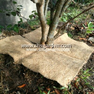 Palm Fibre Mat for Mulching and Weed Control