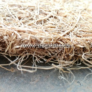 Large (1m) Palm Fibre Mat Weed Control & Mulching (Square)
