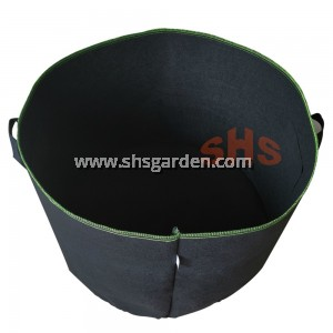 Super Large Nonwoven Planter Bag 30 or 50 Gallon (Black ) SHS KEBUN