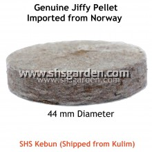 10 pcs ORIGINAL 44mm Jiffy Pellets for Planting and Germinating Seeds (from Norway) SHS Kebun