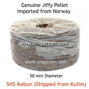 8 PCS ORIGINAL 50MM JIFFY PELLETS FOR PLANTING AND GERMINATING SEEDS (FROM NORWAY) SHS KEBUN