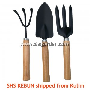 3-in-1 Small Gardening Tool Set (Spade Fork and Claw) SHS Garden