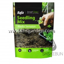 Baba Smart Grow Seedling Soil Blonde Peat Tanah Tanamam Organik For Seed Germination 3L SHS Kebun