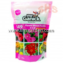 Baba Mr Ganick 549 Organic Flower Bloom Fertilizer Baja Organik Bunga (400g) SHS Kebun