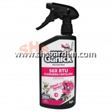 Baba Mr. Ganick Natural Flowering Fertilizer Good for Orchid Adenium 500ml SHS Kebun
