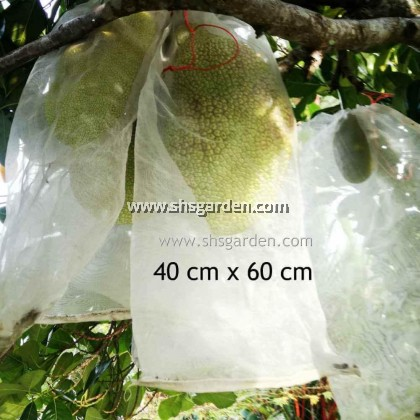 100 pcs Medium Garden Fruit Net (24x25cm) Nylon Fruit Mesh (bag) for Pest Control SHS KEBUN