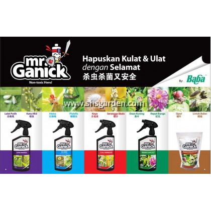 Baba Organic Plant Acid Natural Fungicide and Pesticide Helps Plant Heal Mr Ganick SHS Kebun