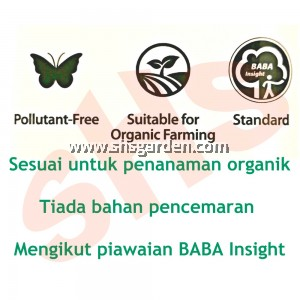 Baba Organic Plant Acid Natural Fungicide and Pesticide Helps Plant Heal SHS Kebun