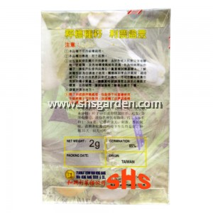 Sweet Basil Seeds Non-GMO 九层塔 2g WHH202 SHS Kebun