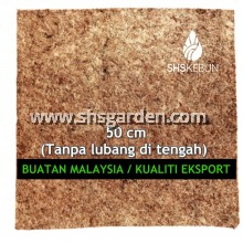 Medium Size (50 cm) Organic Weed Mat (Palm Fibre Mat) for Mulching and Weed Control